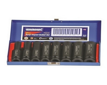 IMPACT DEEP SOCKET SET 1/2 8P-IMP
