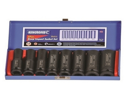 IMPACT DEEP SOCKET SET 1/2 8P-MET